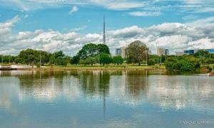 """Parque Sarah Kubitscheck, o """"Parque da Cidade""""."""