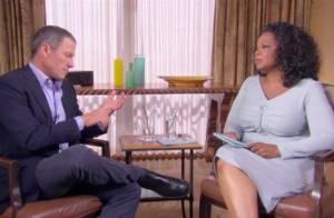 Oprah Winfrey entrevista o ex-atleta.