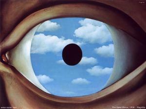 """""""O Espelho Falso"""", de René Magritte"""