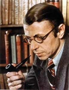 Jean-Paul Sartre, escritor e filósofo francês