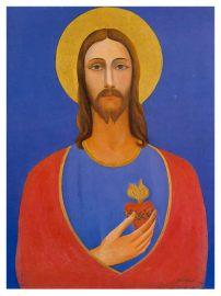 Coração de Jesus, obra de Tarsila do Amaral.