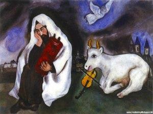 """""""Solidão"""", por Marc Chagall."""