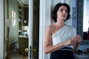 A advogada Gilda, amante de Bruno.