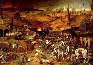 """""""O Triunfo da Morte"""", Peter Bruegel."""