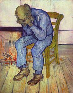 """Às Portas da Eternidade"", Van Gogh."