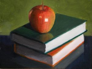 """For the teacher"", pintura de Becky Alden."