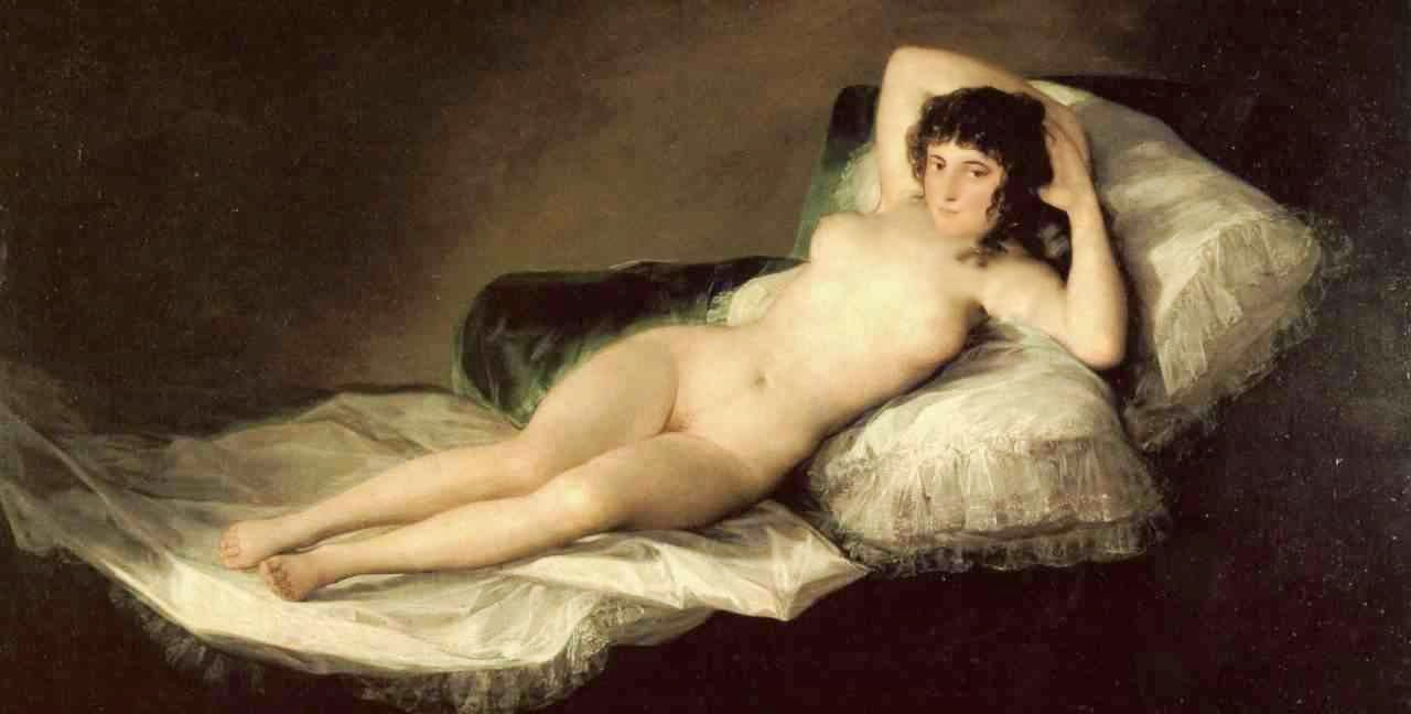 Resultado de imagem para a maja desnuda
